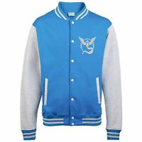 Kids Team Mystic Varsity Jacket funny hood retro gamer anime game