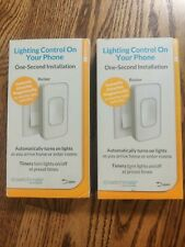 Lot of 2 Switchmate Home Rsm001W Bluetooth Remote-Control Lighting,