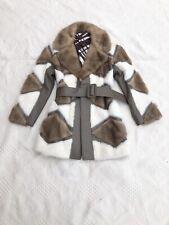 Deadstock 1960s Mod Blonde Mink Patchwork Coat