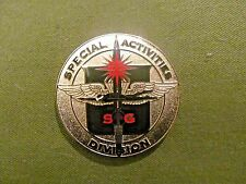 MARSOC RAIDER CIA  SAD SPECIAL ACTIVITIES DIVISION  CHALLENGE COIN