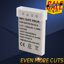 Battery For Nikon EN-EL5 Coolpix P6000 S10 P100 P510 P520 P90 P80 P5100 P4 UK