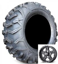 Set of (4) EFX 26-10-14 Moto MotoForce Mud ATV/UTV Force Tires New and MSA Rims