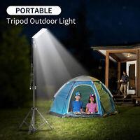 LED Camping Licht Stativ Wiederaufladbare Outdoor Zelt Lampe Wandern Laterne