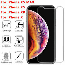 Premium Real HD Screen Protector Tempered Glass Film For iPhone X Xs Max XR Y1