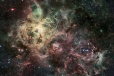 NEBULA GALAXY STARS UNIVERSE poster 24X36 SPOTS FLASHES OUTER SPACE - QW0