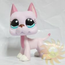 Littlest Pet Shop Animal Collection LPS Toy Gift Pink Great Dane Dog #1022 Rare