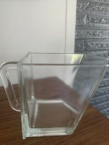 Ikea Forhoja Glass Storage Drawer Scoop Canister for Shelf Unit