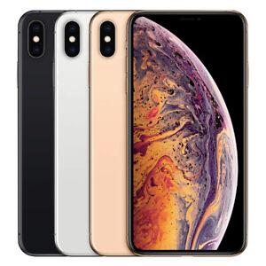 Apple iPhone XS Max 64/256/512GB AT&T Sprint T-Mobile Unlocked Verizon Good