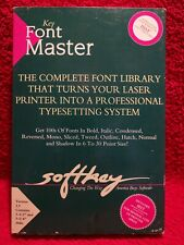 More details for softkey font master v2.1 with 3 1/2