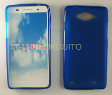 FUNDA de GEL TPU MOVIL AZUL para ZTE BLADE L3 PLUS en ESPAÑA case