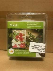 Anna's Christmas Cards & Embellishments Cricut Cartridge + Universal Overlay