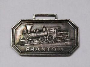 Phatom Railroad Railway Train Watch Fob A Classic Issue