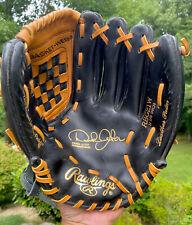 "Rawlings Derek Jeter RBG21W RhT 11.5"" Leather Palm Baseball Glove Black"