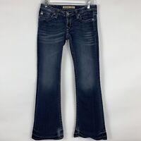 Big Star Jeans Women's Size 27 Sweet Ultra-Low Rise Bootcut Medium Wash