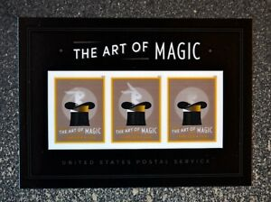 2018USA #5306a Forever - The Art of Magic Rabbit - Souvenir Sheet of 3  Mint