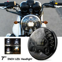 """7"""" Motorrad LED Hi/Lo Haupt Scheinwerfer DRL Mit Blinker E-Geprüft für Harley"""
