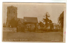 Lower Peover Church - Real Photo Postcard 1908 / Knutsford