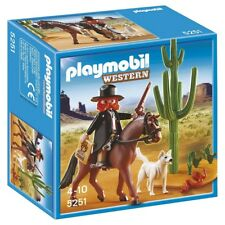 Playmobil 5251 Western Sheriff Cowboy with Horse Figure