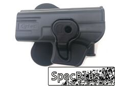 IMI système gaucher ROTO polymère holster glock 17/19/23 / 32 Noir UK