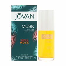 Jovan Tropical Musk by Jovan for Men 3.0 oz Cologne Spray Brand New