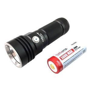 ThruNite TC20 3800 lumen 1 x 26650 USB rechargeable LED torch