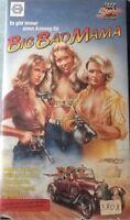 VHS Big Bad Mama (1974) FSK 18 Action mit Angie Dickinson, William Shatner