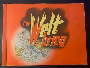 Der Weltkrieg Zigaretten-Bilderdienst Dresden, Sammelheft fast komplett