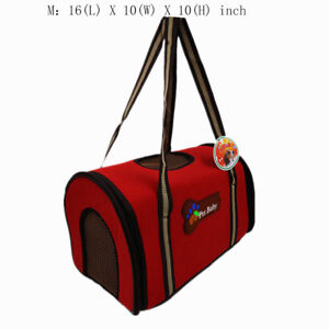 Portable Premium Airline Approved Travel Kennel Crate Cage Bag for small size