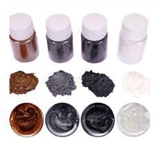 4 x Effektpigment Perleffekt Metalliceffekt Farbpigment  Epoxidharz Pouring u.a.