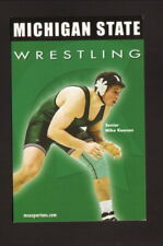 Michigan State Spartans--2004-05 Wrestling Pocket Schedule--Alltel