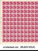INDIA - 1979 6th SERIES DEFINITIVE SG#927 SHEETLET OF 100 STAMPS MNH