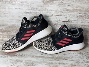 Adidas Edge Lux Bounce Athletic Running Shoes Shoes Black Womens Size 8.5