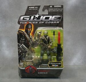 GI Joe ROC Rise of Cobra Movie Firefly Saboteur Action Figure 4in 2009
