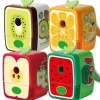 Office Supplies Pencil Sharpener Hand Crank Manual Colorful School Stationery