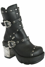 Women's Synthetic Motorcycle Boots