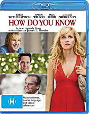 How Do You Know -  Comedy - NEW Bluray