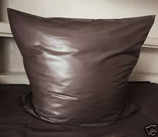 Bettwäsche Satin Viscose einfarbig Braun Größe 135 cm x 200 cm Neu