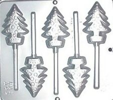 Christmas Tree Lollipop Chocolate Candy Mold Christmas  2096 NEW