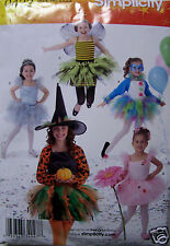 Halloween Costumes for Girls  Simplicity 0422 Paper Sewing Pattern  NIP