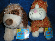 Webkinz~ RARE LOT BROWN CHEEKY DOG & CHEEKY CAT ~NWT~ FAST SHIPPING ~ COLLECTORS