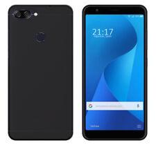 Funda de gel TPU para ASUS Zenfone Max Plus M1 color negra