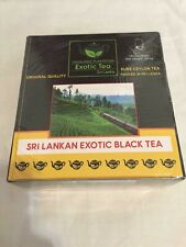 Organic Tea Exotic Black Tea Healthy Natural Sri Lankan Pure Ceylon 100 Tea Bags
