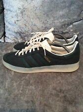 Adidas Originals Gazelle Indoor Men's Sneakers Vintage Shoes Grey Green S74849