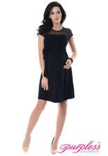 Lace Casual Plus Size Maternity Dresses