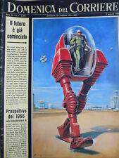 Domenica Del Corriere n°1 1966 James Bond - Farah Diba Scia di Persia  [D23]