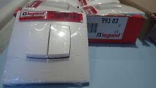 Double Interrupteur va et vient et poussoir 80608- 99303 LEGRAND NEPTUNE