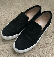 Vince Camuto Women's Black Slip-On Fashion Sneakers, Size 8