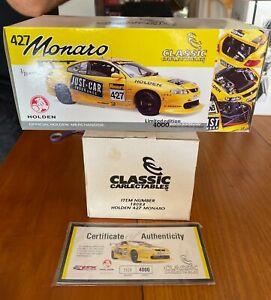 Classic Collectables. Holden 427 Monaro Bathurst 2002. 1:18 EMPTY BOX +Cert.