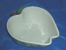 Chaparral Bowl Dish Fruit Pattern  Apple Pear