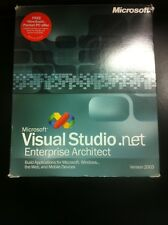 Microsoft Visual Studio .NET 2003 Enterprise Architect Eng mit MwSt-Rechnung
